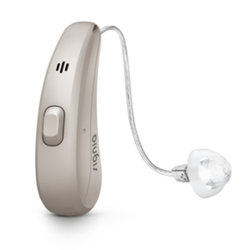 Receiver BTE Signia Charge Hearing Aid