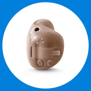 Completely in the canal Intuis ITE Hearing Aid