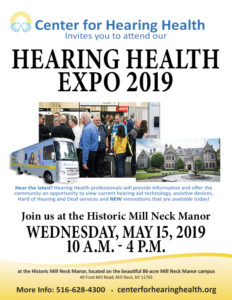 Hearing Health Expo 2019 Vendors will provide information and offer the community an opportunity to view current hearing aid technology, assistive devices, hard of hearign and Deaf services and New innovations available today!
