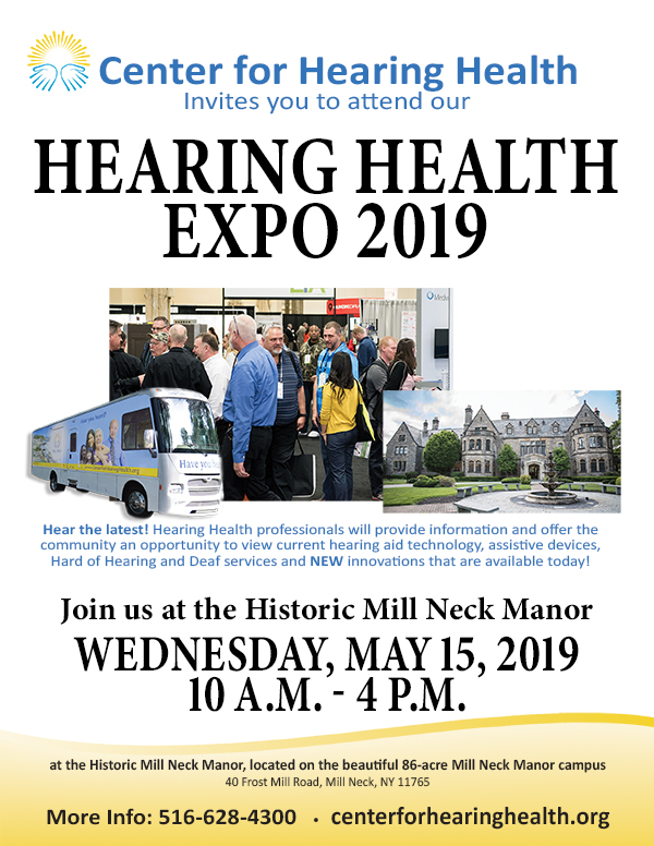 Hearing Health Expo 2019 Vendors will provide information and offer the community an opportunity to view current hearing aid technology, assistive devices, hard of hearing and Deaf services and New innovations available today!