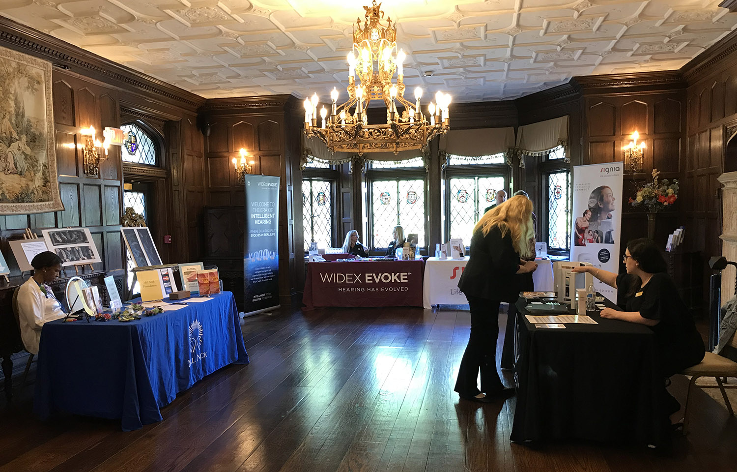 Hearing Health Expo at Mill Neck Manor